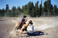 There are quite a few local events including the Anahim Lake Rodeo