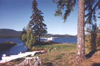 Boats provided by resorts on fly-in lakes
