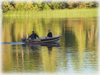 Fishing for Rainbow Trout on Nimpo lake